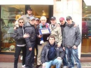 BsR con Giorgio Sandri (papà di Gabriele)